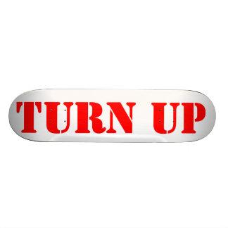 TURN UP BOARD SKATE DECKS