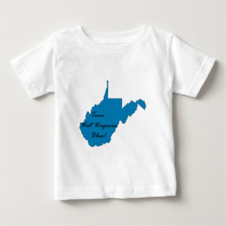 Turn West Virginia Blue! Democratic Pride Baby T-Shirt