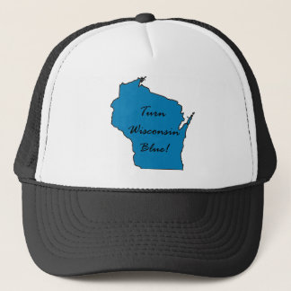 Turn Wisconsin Blue! Democratic Pride! Trucker Hat