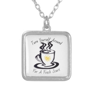 Turn Yourself Around for a FRESH START Custom Necklace