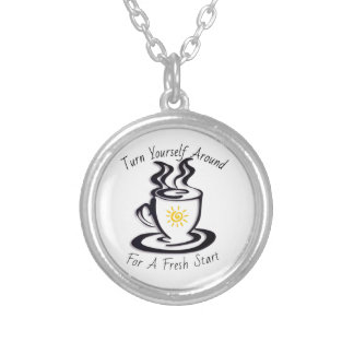 Turn Yourself Around for a FRESH START Pendant