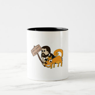 Turnabout Two-Tone Coffee Mug