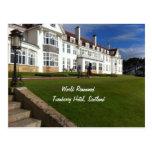 Turnberry Hotel, Scotland Postcard