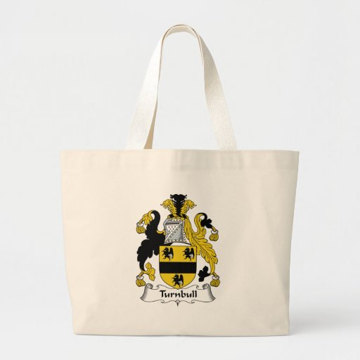 Turnbull Family Crest Canvas Bags
