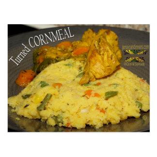 Turned Cornmeal Postcard