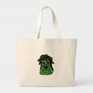 Turned to Stone Large Tote Bag