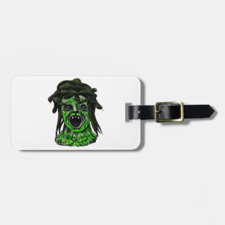 Turned to Stone Luggage Tag