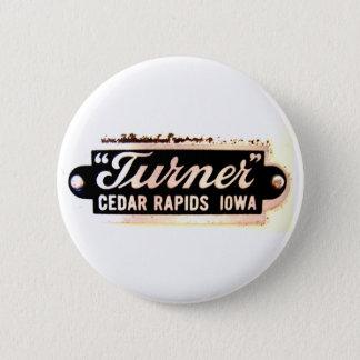 Turner button (white)