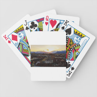 Turnin Italy Skyline Bicycle Playing Cards
