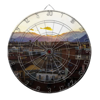 Turnin Italy Skyline Dartboard