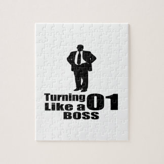 Turning 01 Like A Boss Jigsaw Puzzle
