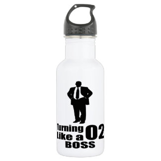 Turning 02 Like A Boss 532 Ml Water Bottle