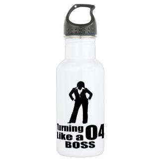 Turning 04 Like A Boss 532 Ml Water Bottle