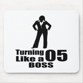 Turning 05 Like A Boss Mouse Pad