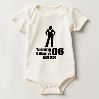 Turning 06 Like A Boss Baby Bodysuit