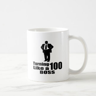 Turning 100 Like A Boss Coffee Mug