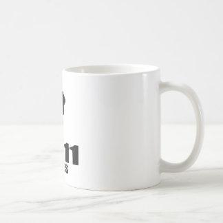 Turning 11 Like A Boss Coffee Mug