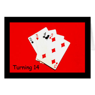 Turning 14 Is A Big Deal! Card