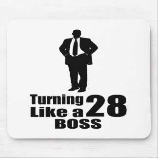 Turning 28 Like A Boss Mouse Pad
