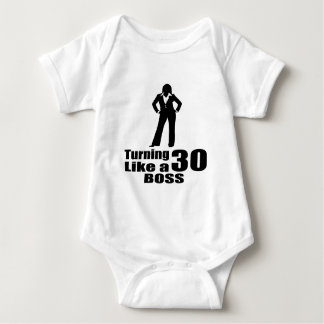 Turning 30 Like A Boss Baby Bodysuit