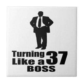 Turning 37 Like A Boss Tile