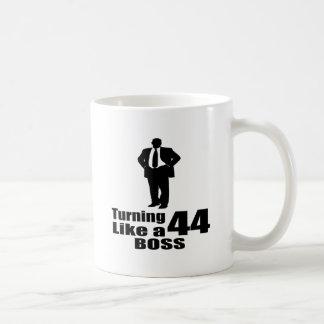 Turning 44 Like A Boss Coffee Mug