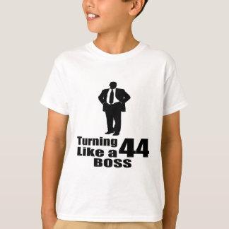 Turning 44 Like A Boss T-Shirt
