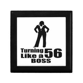 Turning 56 Like A Boss Gift Box