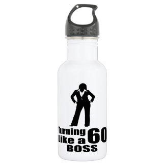 Turning 60 Like A Boss 532 Ml Water Bottle
