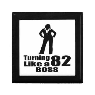 Turning 82 Like A Boss Gift Box