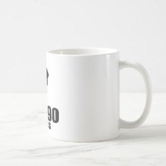 Turning 90 Like A Boss Coffee Mug