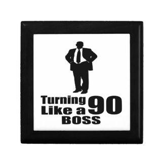 Turning 90 Like A Boss Gift Box