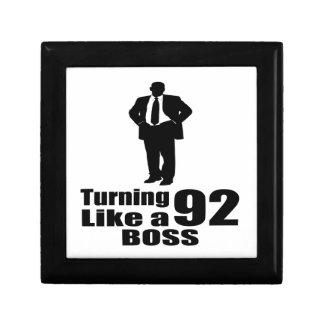 Turning 92 Like A Boss Gift Box