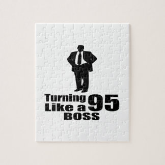 Turning 95 Like A Boss Jigsaw Puzzle