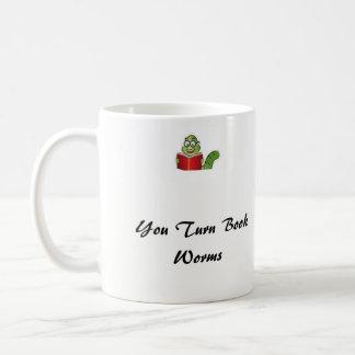 Turning Book Worms into Knowledge Dragons Coffee Mug