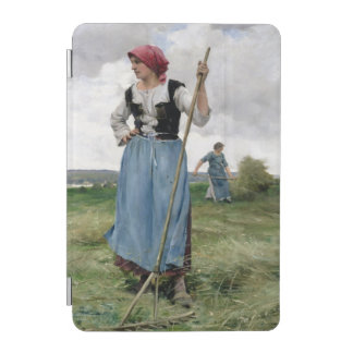 Turning the Hay (oil on canvas) iPad Mini Cover