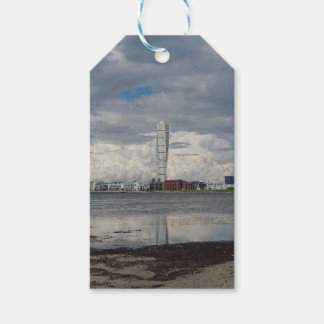 Turning torso beach malmö sweden gift tags