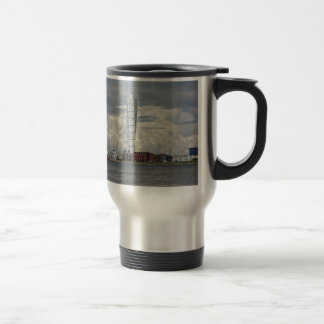 Turning torso beach malmö sweden travel mug