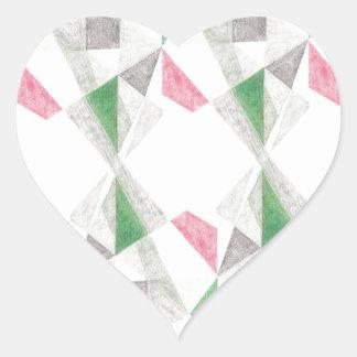 Turning Torsos Heart Sticker