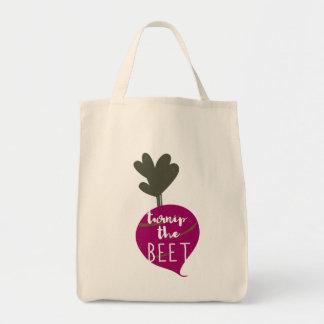 Turnip the Beet Grocery Tote Bag