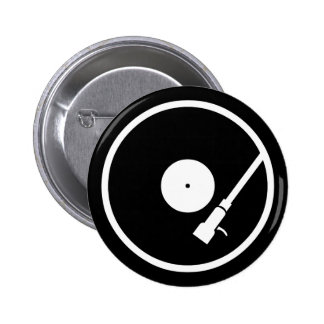 Turntable 2 Inch Round Button