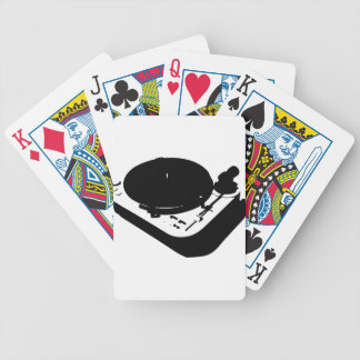 Turntable Bicycle Playing Cards