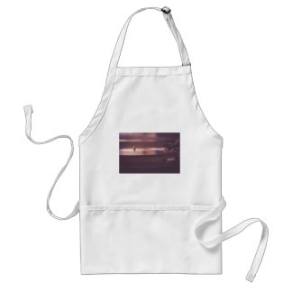 Turntable Music Record Vinyl Equipment Black Standard Apron