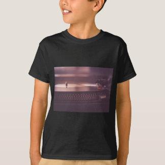 Turntable Music Record Vinyl Equipment Black T-Shirt