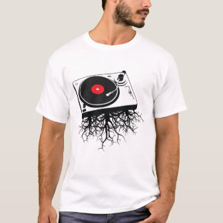 Turntable Music Roots T-Shirt