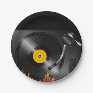 Turntable Paper Plates