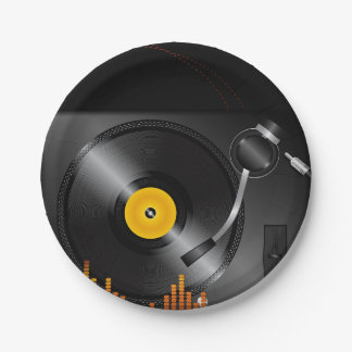 Turntable Paper Plates 7 Inch Paper Plate