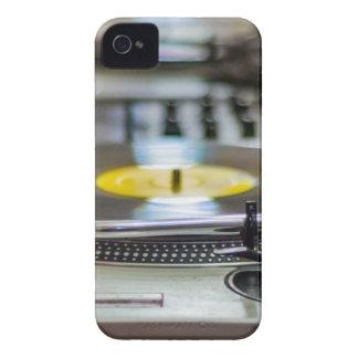 Turntable Record Vinyl Music Sound Retro Vintage Case-Mate iPhone 4 Cases