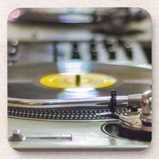 Turntable Record Vinyl Music Sound Retro Vintage Coaster