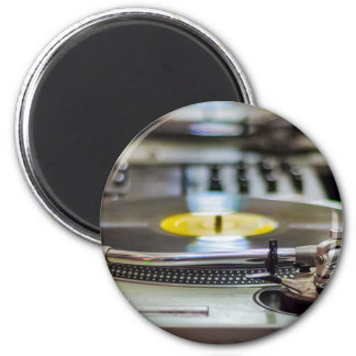 Turntable Record Vinyl Music Sound Retro Vintage Magnet